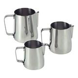 Roomkan/melkkan 1ltr Ø104mm geheel rvs, taps toelopend, // uitermate geschikt om melk op te schuimen.