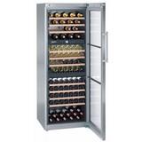 Wijnklimaatkast WTes5872 178 fles 3 temperatuur zones  rvs met glasdeur 230V merk Liebherr