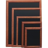 Securit krijtbord dark brown 40x50cm