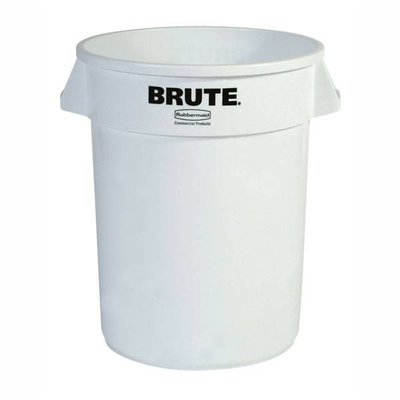 Rubbermaid ronde Brute container 121,1ltr wit 56x69cm