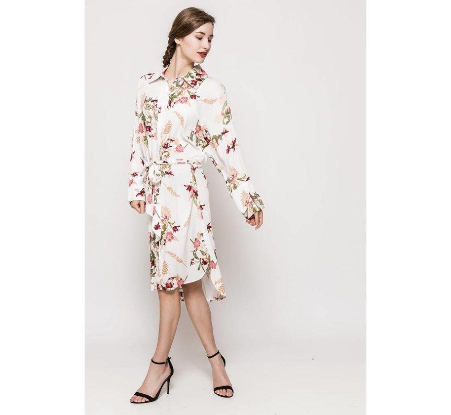 The Blossom White Dress