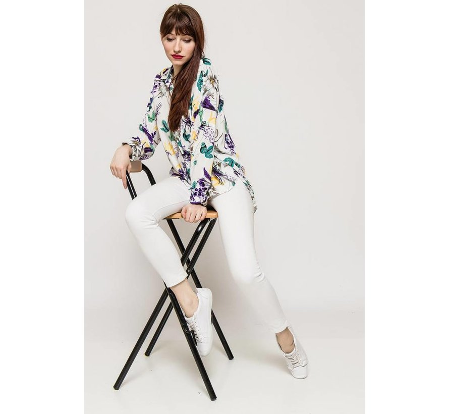 The Blossom White Blouse