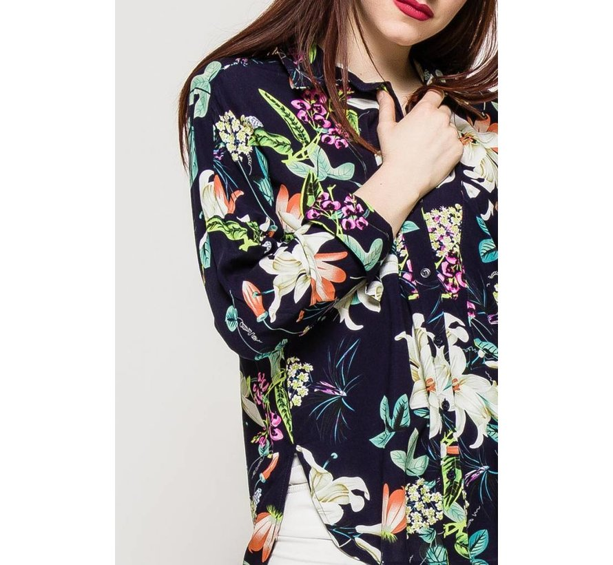 The Blossom Blue Blouse