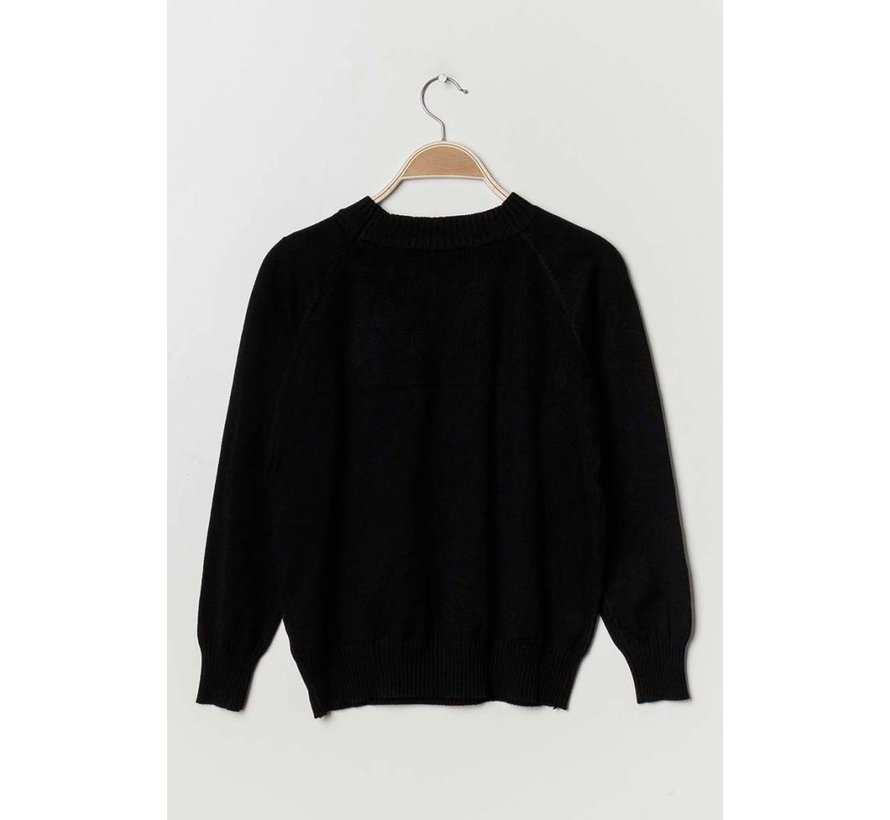 Gebreide sweater in diverse kleuren