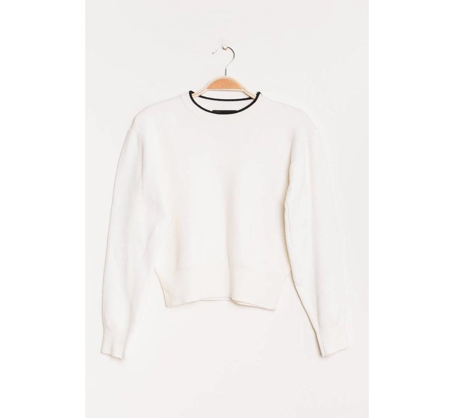 Cozy Cropped White