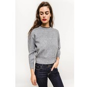 Cozy Cropped Grey
