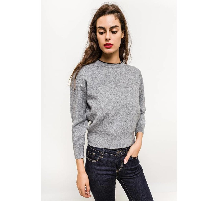 Cozy Cropped Taupe