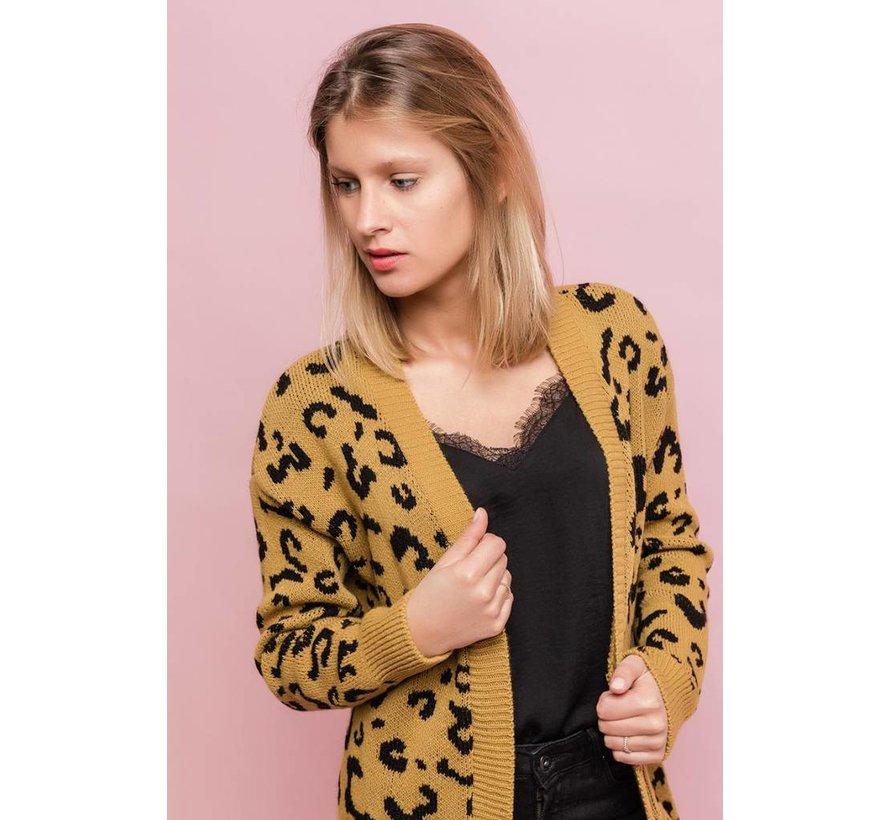 Leopard Love Mustard
