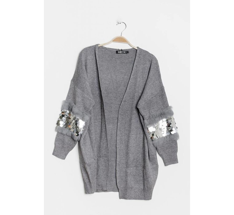 Fancy Sleeves Gray