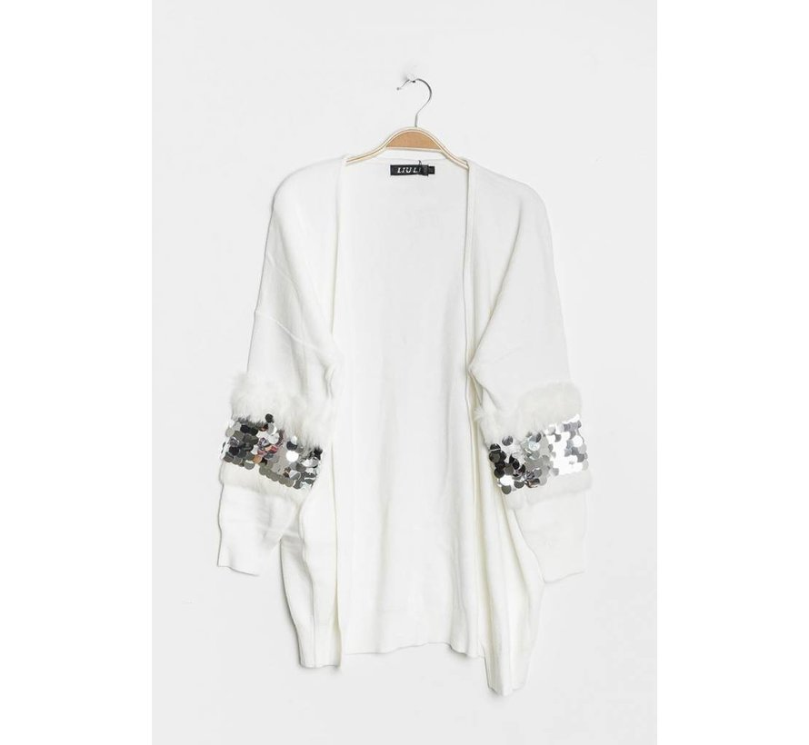 Fancy Sleeves White