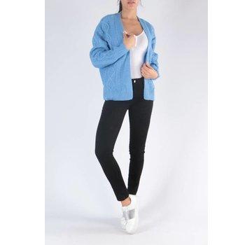 Daphnea Blue Knitted