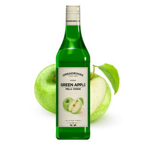 ODK - ORSA green apple  - groene appel cocktail en fruit siroop