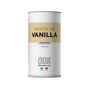 ODK - ORSA Frappè - hints of vanilla - vanille