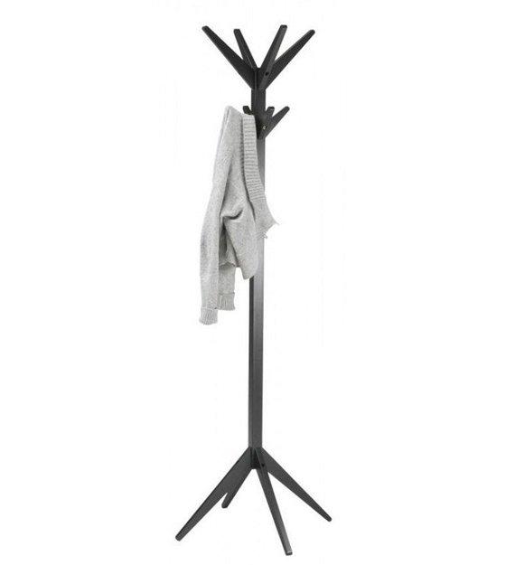Uitzonderlijk LEF collections Kapstok 'Studio' staand zwart berkenhout NQ13
