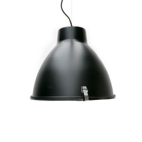 LEF collections Industry Hanging lamp black metal 42x42x37cm