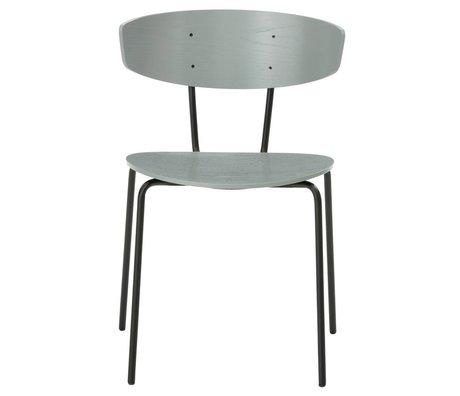 Ferm Living Salle à manger chaise Herman métal gris 50x74x47cm bois