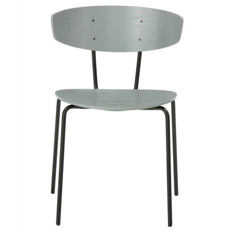 Ferm Living Dining chair Herman gray metal timber 50x74x47cm