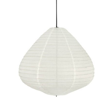 HK-living Lampion natural white cotton Ø65x58cm