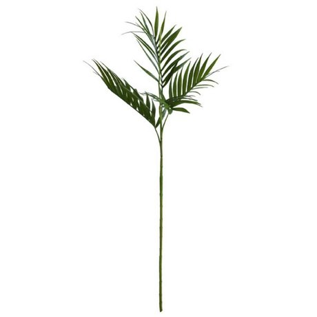 HK-living Decoration palm leaf green 125cm