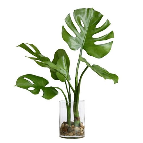 HK-living Monstera decoration vase 59x55x59cm