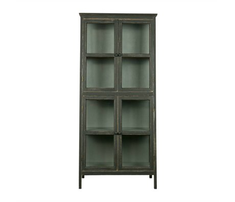BePureHome Showcase Herritage black wood 173x79x45,5cm