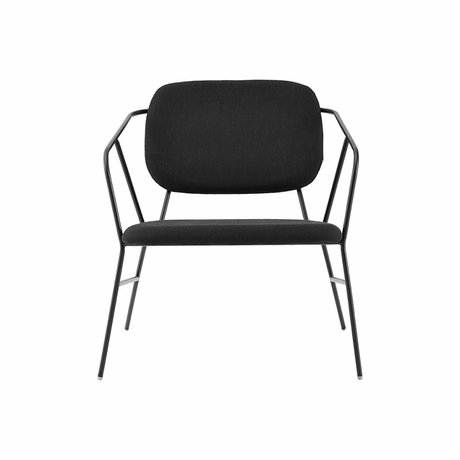 Housedoctor Lounge chair sticker metal polyester foam 70x70x75cm