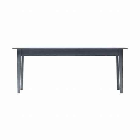 Housedoctor Side Table gray musk wood 200x45x80 cm