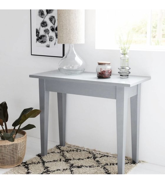 Side Table Grijs.Housedoctor Side Table Gray Musk Wood 100x45x80cm