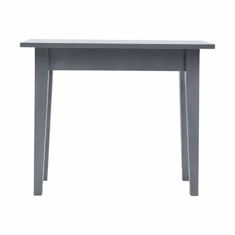 Housedoctor Side Table gray musk wood 100x45x80cm