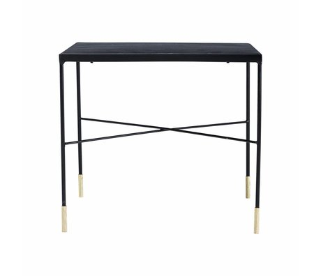 Housedoctor Table Ox gray iron 50x50x45cm