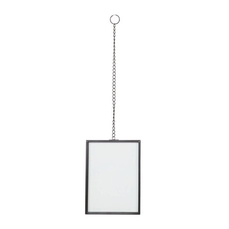 BePureHome Xpose Rahmen schwarz Metall M 20x15x1cm