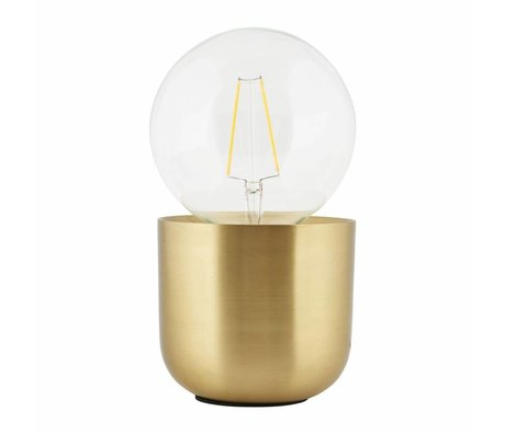 Housedoctor Table Lamp Gleam brass, copper 12x12x10,5cm