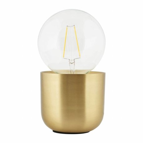 Housedoctor Lampe de table Gleam laiton, cuivre 12x12x10,5cm