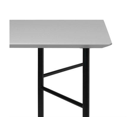 Ferm Living Table top Mingle light gray wood linoleum 90x160x2cm