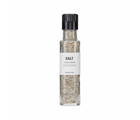 Nicolas Vahe Salt with garlic and thyme 300g