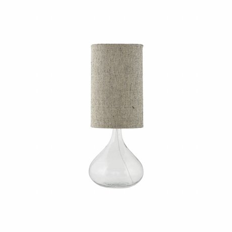 Housedoctor Table Lamp Med transparent glass 26x26x34cm