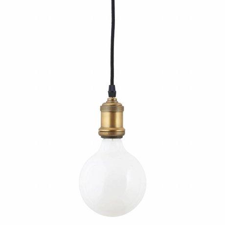 Housedoctor Led light bulb white glass 175x125mm