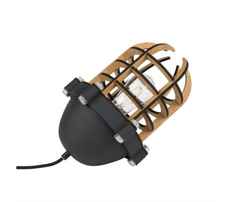 Zuiver Lampe de table Navigator 22,5x32cm en métal noir