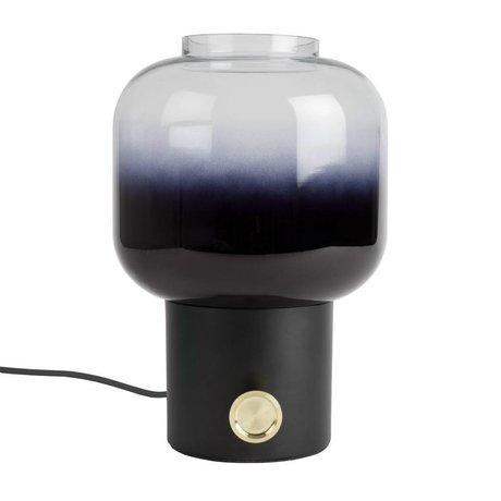 Zuiver Lampe de table de mauvaise humeur métal noir 20x38,5cm en verre