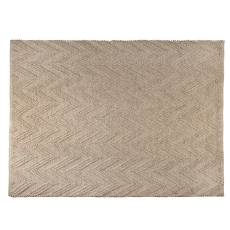 Zuiver Rug Punja Marled light brown wool 170x240x1cm