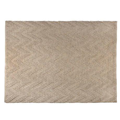 Zuiver Teppich Punja steinig hellbraun Wolle 170x240x1cm