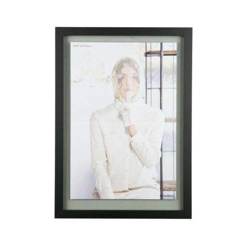 BePureHome Fotolijst Shift zwart hout XL 70x50x1,8cm