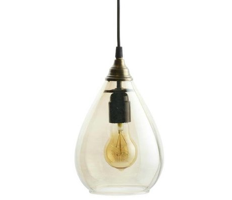 BePureHome Suspension simple laiton or verre M 25xØ11cm