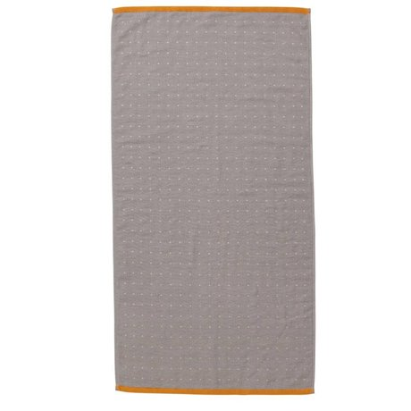 Ferm Living Sento gray towel organic cotton 50x100cm