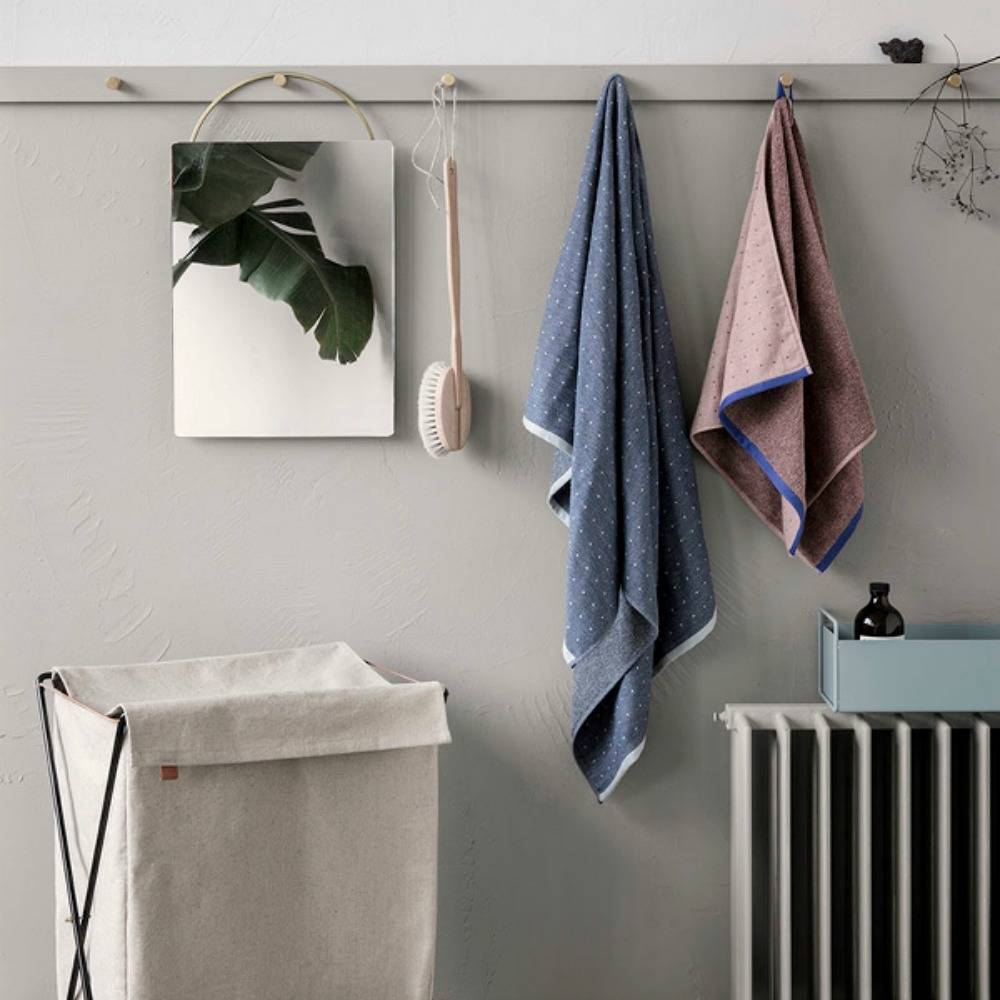 ferm living herman w schekorb beige leinwand metall. Black Bedroom Furniture Sets. Home Design Ideas