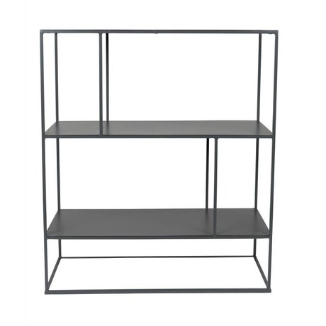 Zuiver Shelving cabinet Son dark metal 76x30x88cm