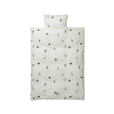 Ferm Living Party-Bettbezug Set Baby Baumwolle 70x100 cm inkl pillowcase 46x40cm