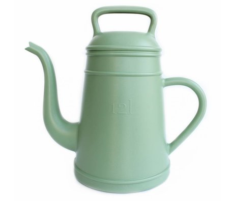 Xala Lungo green plastic watering can ø26x43cm 12L