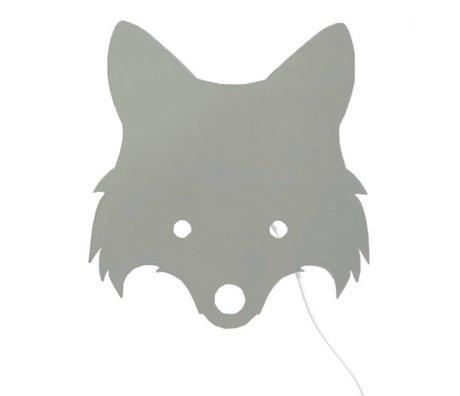 Ferm Living Applique Fox poussiéreux vert bois 30x22,5cm