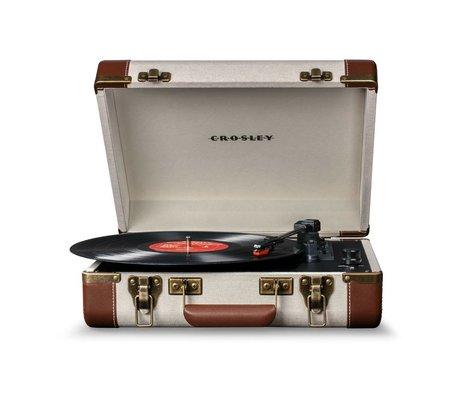 Crosley Radio Crosley radio Crosley Executive bruin beige 35,5x28x11,4cm